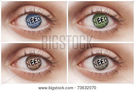 Need Eyes
