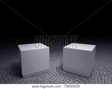Empty Plinths