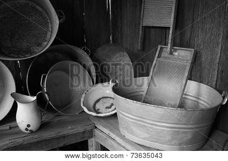 Old Washing Tubs