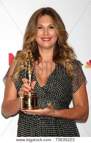 LOS ANGELES - OCT 10:  Daisy Fuentes at the 2014 NCLR ALMA Awards Press Room at Civic Auditorium on October 10, 2014 in Pasadena, CA