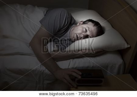 Mature Man Cannot Get To Sleep