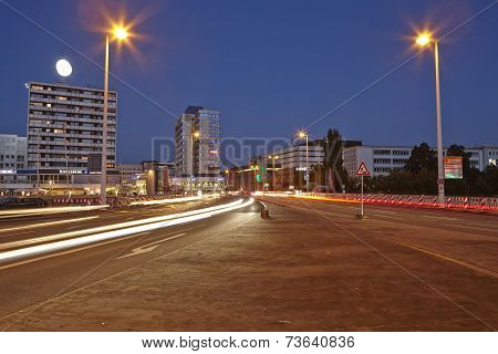 Saarbruecken - City At The Blue Hour