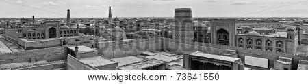 Panorama view of Khiva