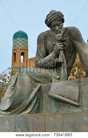 Abu Abdallah Muhammad Ibn Musa Al-khwarizmi Monument In Khiva