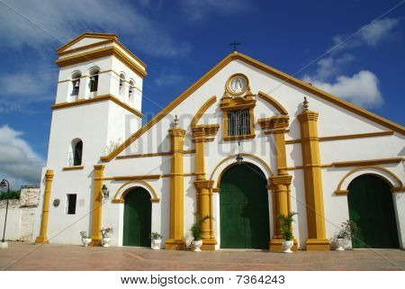 Church In Mompos, Colombia