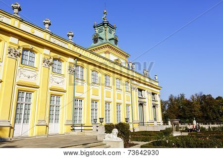 Royal Palace, Wilanow, Poland