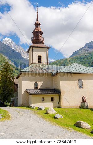 Church Saint Pierre D Argentiere