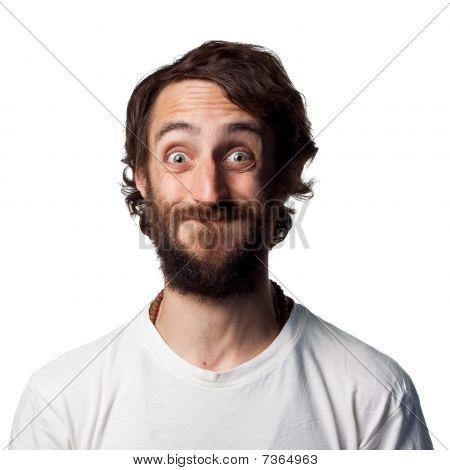 Smug Young Man