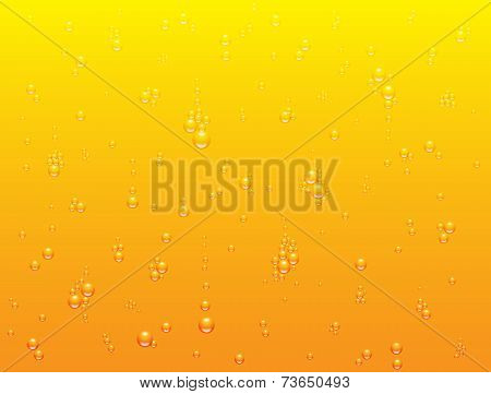 Vector background of light beer texture