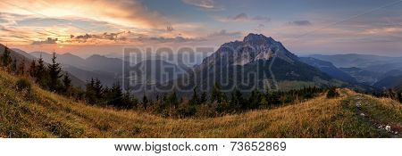 Slovakia Mountain Peak Rozsutec