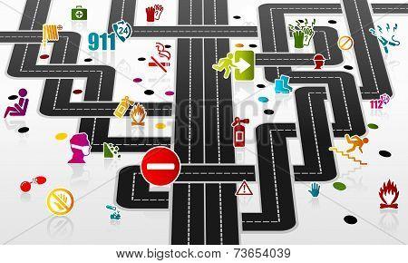 Safety infrastructure