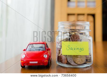 Saving Money For A Car