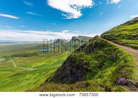 Open landscape on the Isle of Skye
