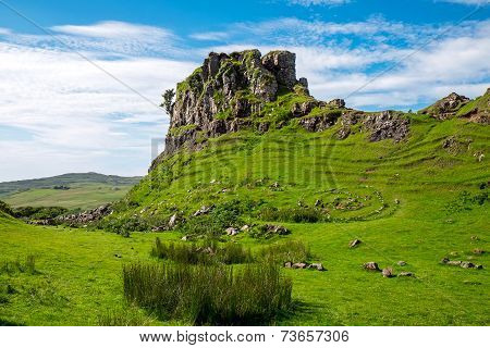 The Fairy glen on the Isle of Skye