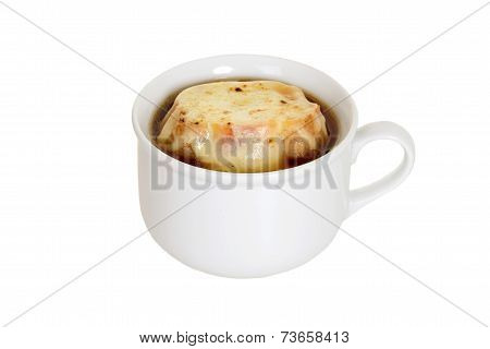 isolated french onion soup