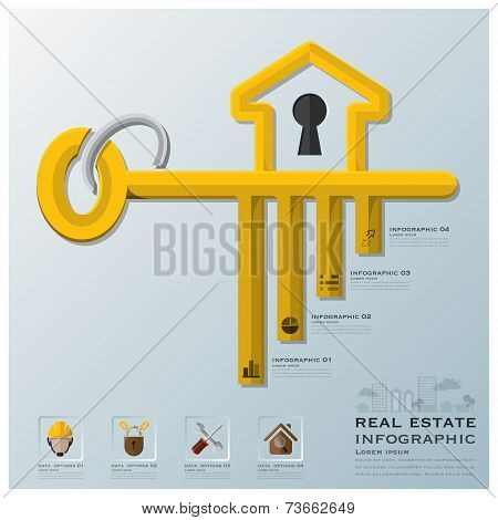 Real Estate And Business Infographic