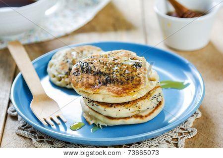 Vegan Poppy Seed Pancake