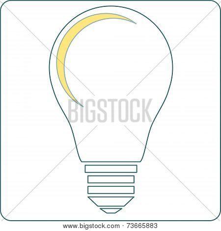 Start up light bulb stock vector