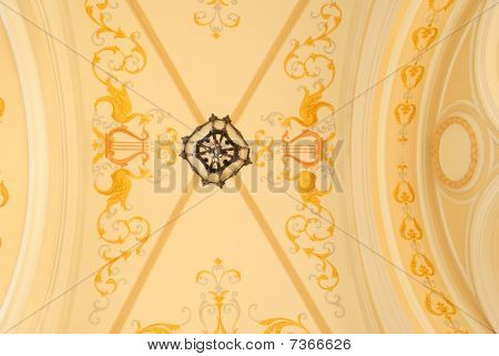 Ornament On The Ceiling