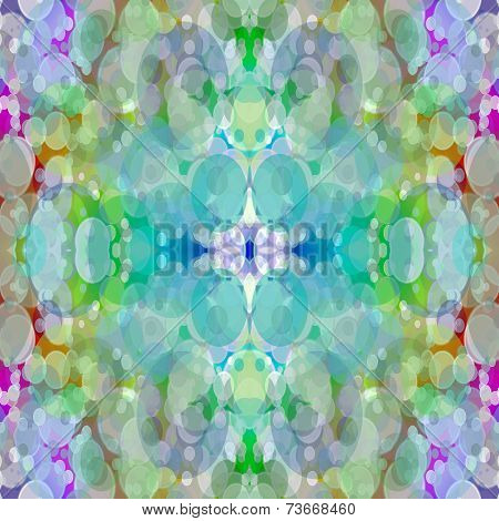 Kaleidoscope Blurry Abstract Background.
