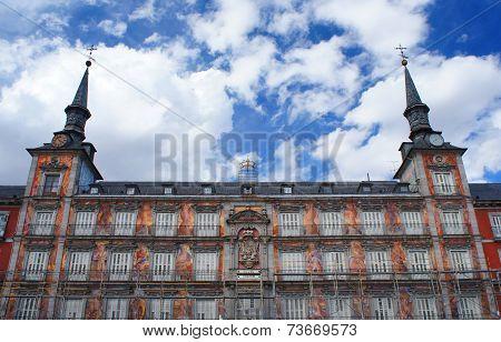 Plaza Mayor, Madrid, details