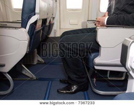 Legroom on aircraft