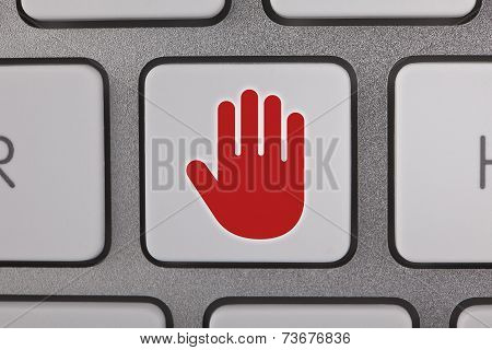 Stop on Keyboard
