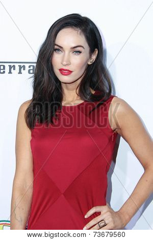 LOS ANGELES - OCT 11:  Megan Fox at the Ferrari Celebrates 60 Years In America  at Wallis Annenberg Center for Performing Arts on October 11, 2014 in Beverly Hills, CA