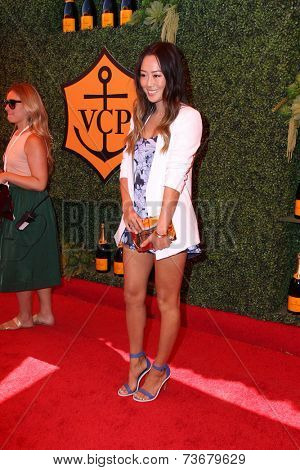 LOS ANGELES - OCT 11:  Aimee Song at the Fifth-Annual Veuve Clicquot Polo Classic at Will Rogers State Historic Park on October 11, 2014 in Pacific Palisades, CA