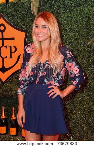 LOS ANGELES - OCT 11:  Lauren Conrad at the Fifth-Annual Veuve Clicquot Polo Classic at Will Rogers State Historic Park on October 11, 2014 in Pacific Palisades, CA
