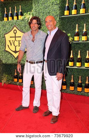 LOS ANGELES - OCT 11:  Nacho Figueras at the Fifth-Annual Veuve Clicquot Polo Classic at Will Rogers State Historic Park on October 11, 2014 in Pacific Palisades, CA