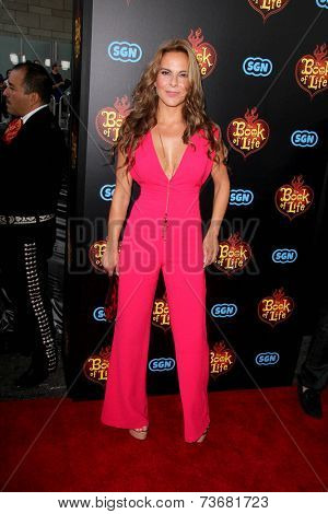 LOS ANGELES - OCT 12:  Kate del Castillo at the