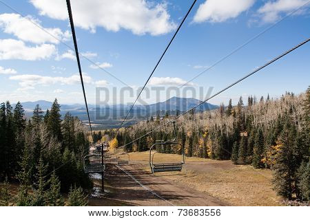 Ski Lift on top of Mount Humphreys