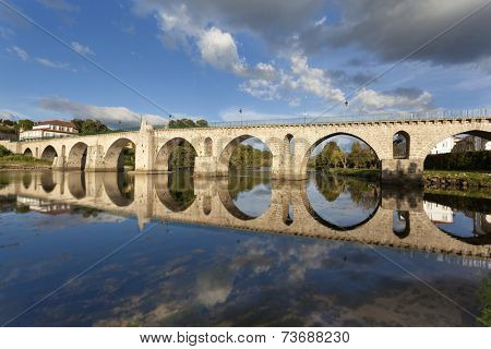 Bridge of Ponte da Barca, Portugal