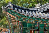 pic of korean  - Korean traditional architecture of roof top - JPG
