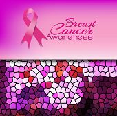 Photo of breast cancer awareness.