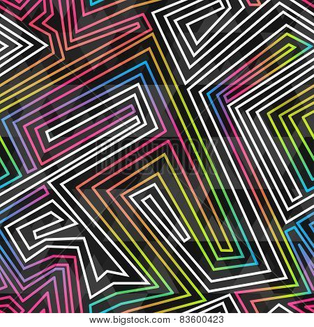 Bright Neon Seamless Pattern