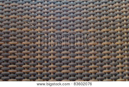 Wicker Woven Texture For Background