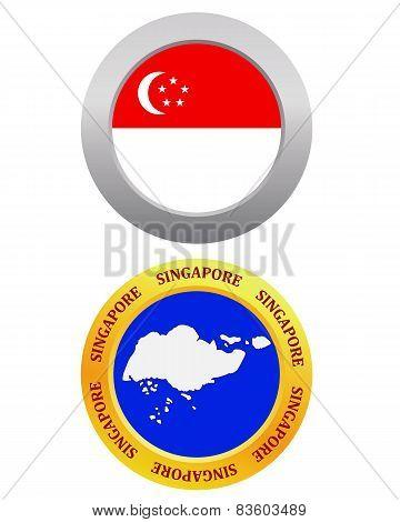 Button As A Symbol Singapore