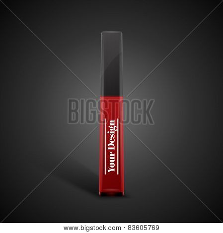 Blank beautiful gloss for lips