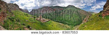 Novarank Monastery Panorama