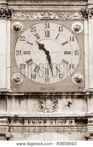 Ancient clock