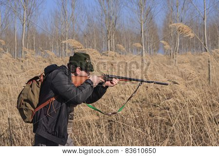 hunter shooting