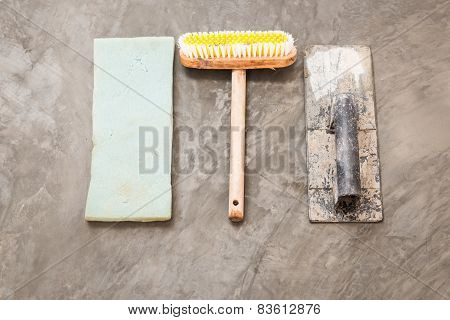 Construction Tools For Concrete Job