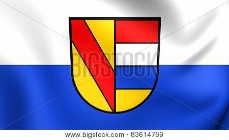 Flag Of Pforzheim, Germany.
