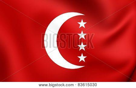 Autonomous Island Of Anjouan Flag