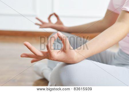 Yoga Arm Close-up
