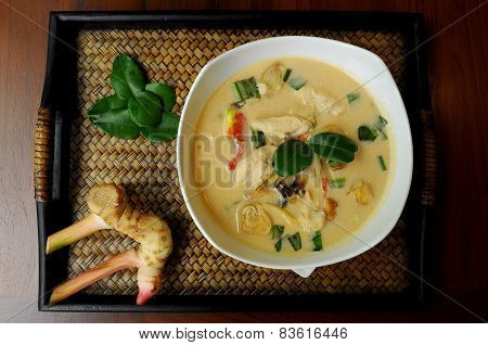 Chicken Tom Kha soup