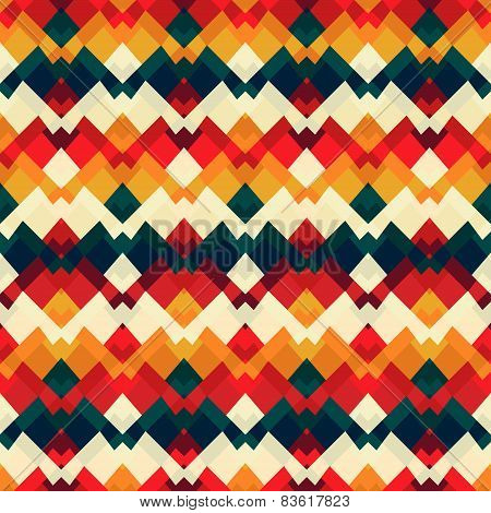 Vintage Bright Seamless Pattern
