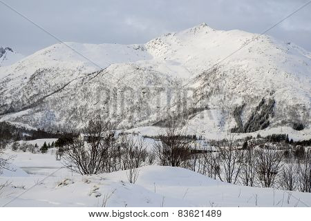 Mountain At Winter